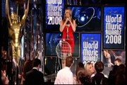 """Mariah Carey Accepting Award for """"Outstanding Contribution to Music"""" for Antonio """"L.A."""" Reid"""