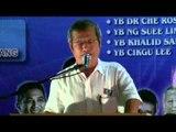 (Kajang Part 2) Lee Kim Sin (Cikgu Lee): People Distrust UMNO Barisan Nasional