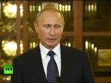 Tisková konference Vladimíra Putina k sankcím a Ukrajině.Titulky CZ