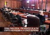 Total respaldo de altas cortes a la Corte Suprema