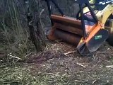 MX SSL Trincia Forestale Idraulica per Skid Steers // BERTI Forestry Mulcher for Skid Steers