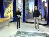 Gafe ao vivo no Jornal do Almoço RBS TV 24/07/10