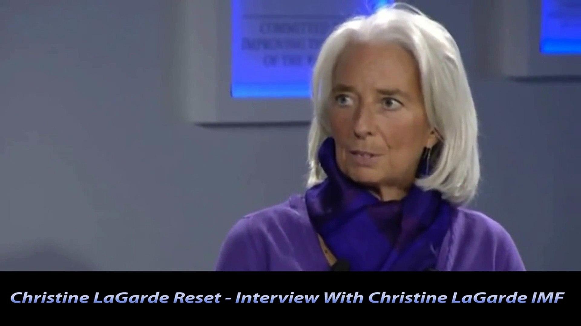 Christine LaGarde Reset - Interview With Christine LaGarde IMF