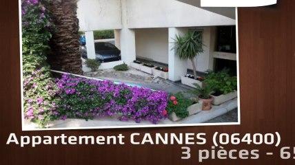 CANNES - CANNES CENTRE : LUMINEUX 3P 65 m² - Cave