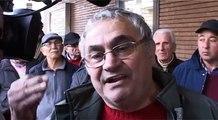 Giugliano (NA) - Cittadini protestano contro la Tares -live- (03.01.14)