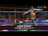 Amir Khan Fight With Israeli Boxer & Amir Khan Knocked Out