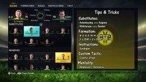 FIFA 15 Borussia Dortmund - Best Formation, Instruction, Custom Tactic - PRO FIFA GUIDE.