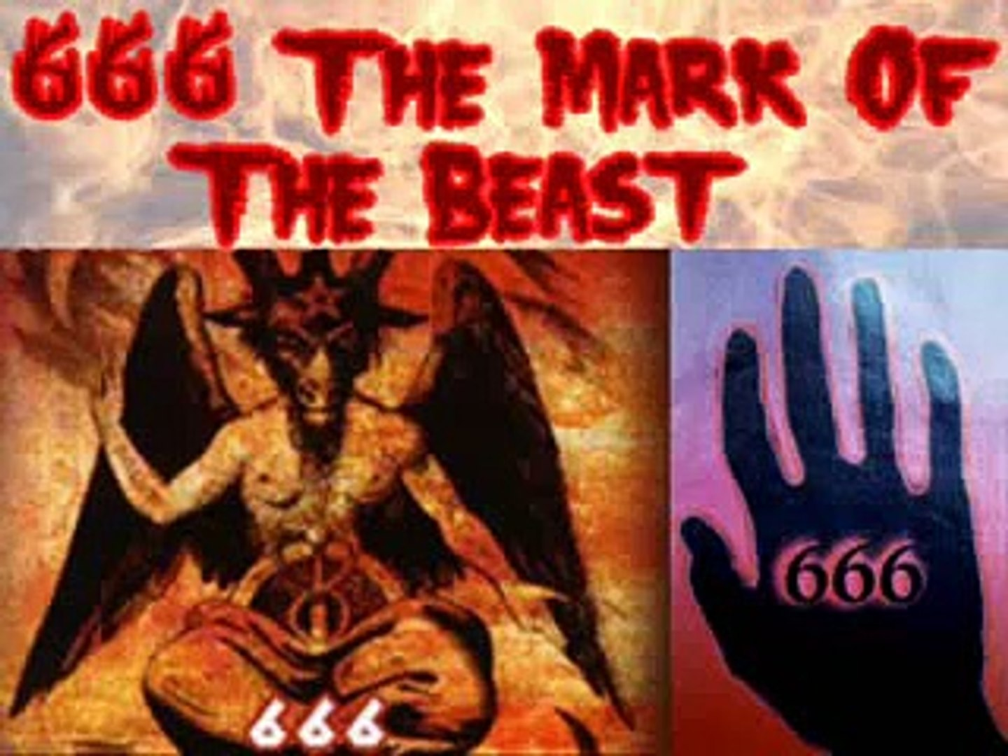 WARNING! 666 The Mark of the Beast - video Dailymotion