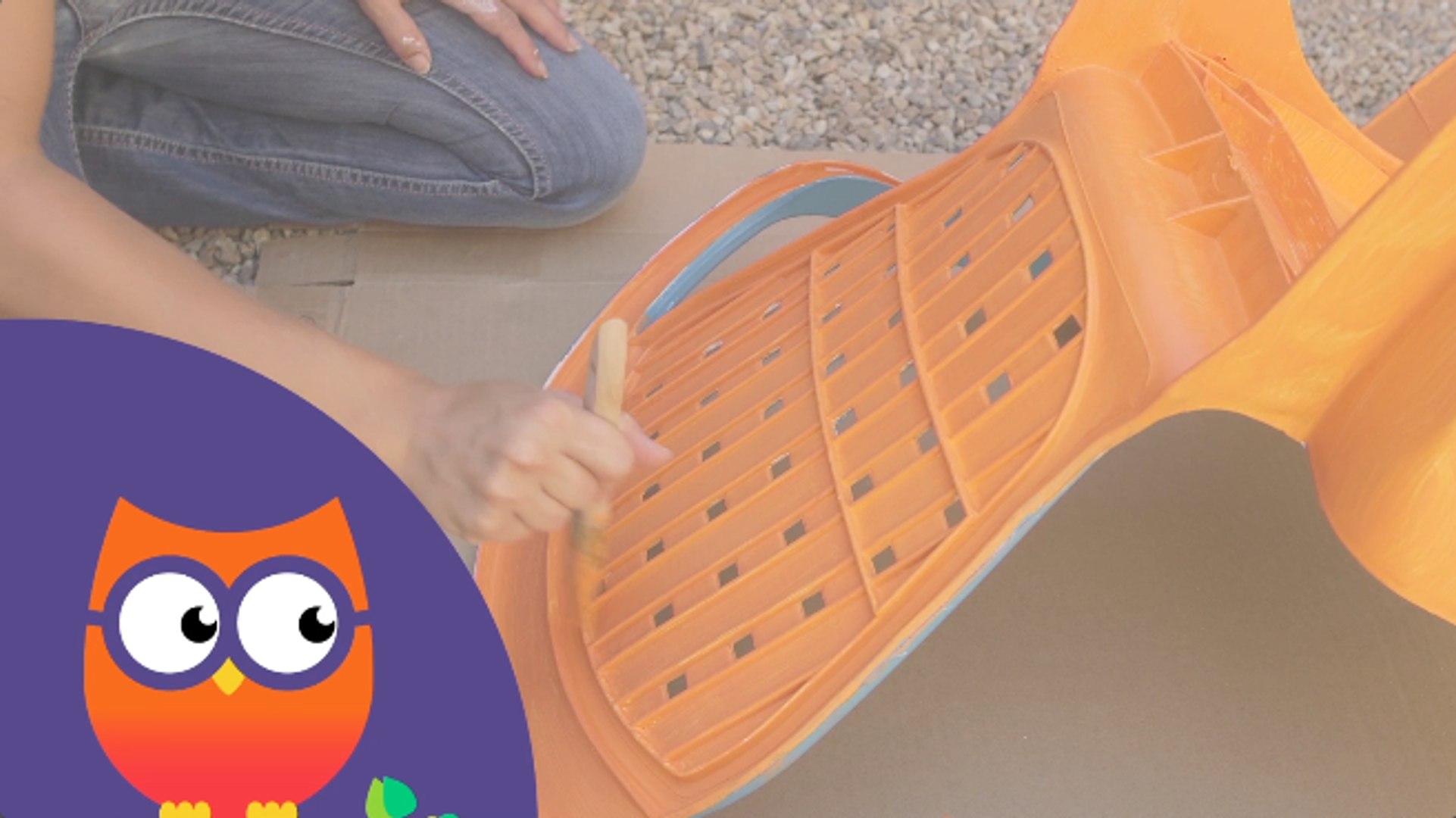Comment peindre des meubles de jardin en plastique (Ooreka.fr)