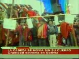 En Bolivia Degollan Perros en Amenaza a los Opositores
