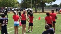 JOSH MANFRED 8 Year Old Quarterback Houston Texas Football Humble Atascocita HAFL Youth Football