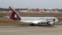Qatar Airways Airbus A330 Takeoff at Berlin Tegel Airport HD (1080p)