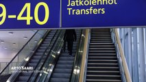 The world's fastest transfer at Helsinki Airport by Arto Saari