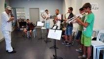Exercice d'improvisation - atelier Michel Marre à l'école de musique