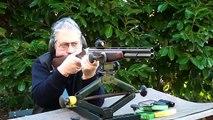 """Le fusil Lanber """"Traqueur"""" avec viseur Aimpoint."""