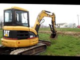 2006 Caterpillar 304CR mini excavator for sale   sold at auction May 9, 2013
