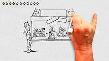 Whiteboard animatie: 11 acties om sport en bewegen in de buurt te stimuleren - Linsen Communicatie