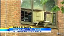 Bus Driver Catches Autistic Girl Falling From 3-Story Window: Fall Caught on Tape