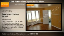 A louer - Appartement - PAU (64000) - 3 pièces - 78m²