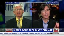 Journalist Lectures Piers Morgan for Giving Air Time to Climate Denier CNN 11 11 2013