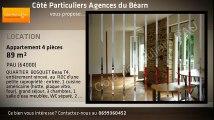 A louer - Appartement - PAU (64000) - 4 pièces - 89m²