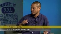 The two ingredients great companies have - Tony Hsieh, Zappos at #SGFUS