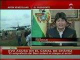 Boliviaclip - Evo Morales, pide disculpas en el canal de Hugo Chávez