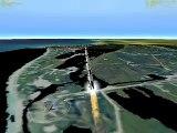 Apollo 11 Launch Using Orbiter Flight Simulator