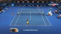 Serena Williams vs Maria Sharapova FUNNY HD Australian Open 2015