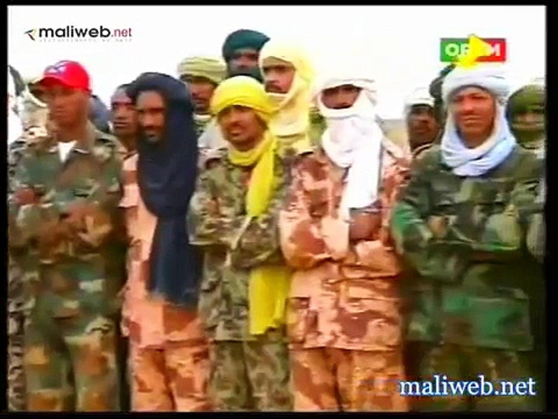 Contrairement à Sanogo, la troupe du Colonel touareg GAMOU prête pour libérer le nord malien