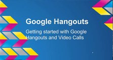 Google Video Calls vs  Google Hangouts On Air