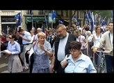Manifestation des catholiques intégristes à Paris