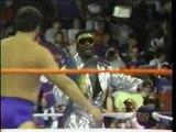 "WWF Wrestling 1988 w/ Koko B Ware Bobby ""The Brain"" Heenan Andre the Giant Harley Race Hulk Hogan"