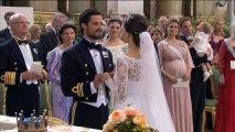 Suède : mariage du prince Carl Philip et Sofia, ex-star de téléréalité
