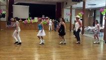 Les premiers pas de danse pour le 24h country