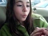 Me n Rachel n Michaela in Rachels truck =D