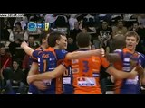 Oliver Venno(ACH Volley Bled) against Paris Volley