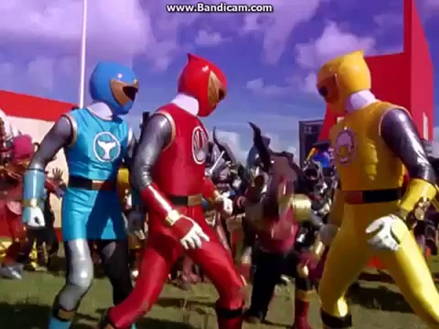 Power Rangers Ninja Storm The Final Battle