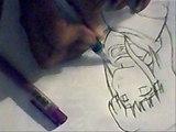 Dibujo hinata shippuden - Drawing Hinata