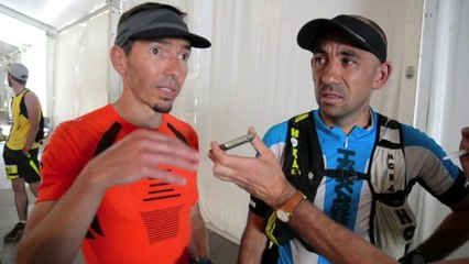 Grand Trail du Saint-Jacques - Réactions de Florian Racinet et Fabrice Couchoud
