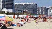 MIAMI BEACH. South Beach. Florida. USA. March 2014