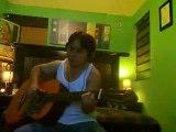 cover/allways/ bon jovi/ acoustic guitar / solo