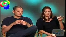 New Prison Break Interview - Michael and Sara