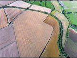Two new Crop Circles 9th & 13th Aug 2010 at Horton and Northdowns, Wiltshire, UK