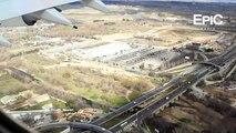 Landing at Barajas Airport, Spain / Aterrizaje en Barajas Madrid, España (HD)