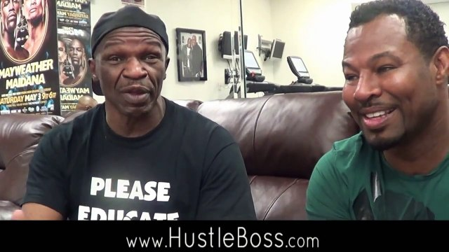 Floyd Sr. admits he was scared as sh*t when Shane Mosley rocked Floyd in their fight [3 of 5]
