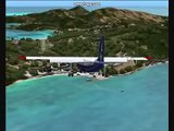 FS2004 flight Saba - St. Barthelemy