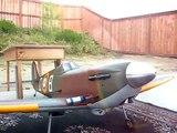 Hangar 9 Spitfire with Saito 100