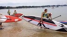 Loïck Peyron au Morbihan Paddle Trophy