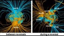 Detectan veloces cambios en el núcleo terrestre afectando el campo magnético.